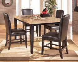 Dining Room Sets With Leather Chairs by Furniture Square Cream Ceramic Small Dining Room Sets With Black
