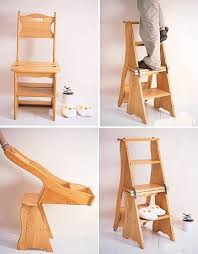 Free Wooden Step Stool Plans by