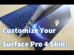 amazon pro customize your own skin for surface pro 4 using amazon youtube