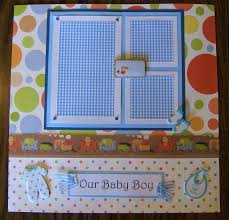 baby boy photo album scrapbook designs by mildred our baby boy