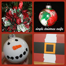 4 simple christmas crafts