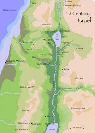 Maps C Maps Of 1st Century Israel C L Francisco