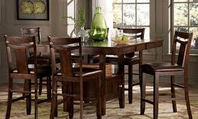 Black Dining Room Set Dining Room Kitchen Table Height Awesome Tall Dining Room Table