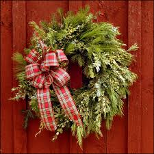 fresh wreaths springledge balsam 24 decorated wreath free shipping