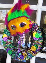 mardi gras wreaths diy a fast and festive mardi gras wreath crafts n coffee