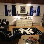 New York Themed Bedroom Decor New York Yankees Bedroom Decor Lovely New York Ny Yankees Locker