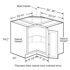 how to make a corner base cabinet home decorators collection newport assembled 36x34 5x24 in