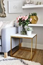 narrow end tables living room inspiring ikea side table hack interiordesign casegoodsideas moder