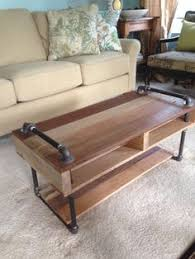 Pipe Coffee Table by Reclaimed Wood Coffee Table Crate Dolley Galvanized Pipe Metal