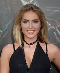 universal hollywood halloween horror nights 2016 saxon sharbino at u0027halloween horror nights u0027 opening night at