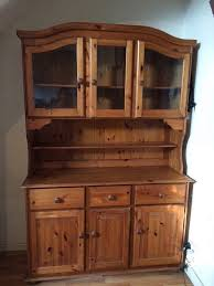 kitchen display cabinets solid wood large dresser or kitchen display cabinet 100 ono in