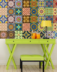 sticker set mexican tile tile stickers decorative tiles vinyl