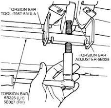 ford explorer torsion bar repair guides front suspension torsion bars autozone com