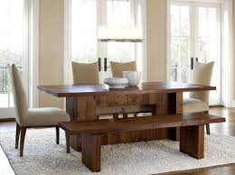 Bench Seat With Table Dining Room Table Bench Seats Home Interior Design Ideas