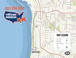 Mtsac Map 4th Of July 5k