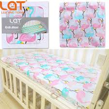 Soft Crib Mattress Pad Lat Baby Pre Washed 100 Cotton Muslin Fitted Crib Mattress Cover