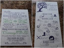Wedding Itinerary Geeky Rustic Summer Camp Wedding In The Woods