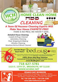 Bed Bug Cleaning Services Passover Cleaning Services In New York