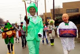 scarehouse infests pittsburgh st patrick u0027s day parade youtube