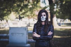 halloween skeleton makeup a southern drawl