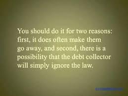 debt validation letter vs debt verification letter credit