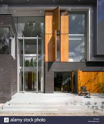 modern exterior of pond and park house dulwich london uk with