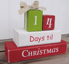 countdown blocks christmas pinterest christmas time craft