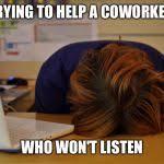 Head Desk Meme - head desk meme generator imgflip