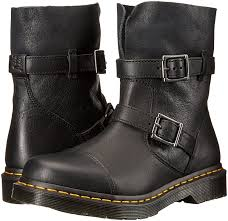 black moto boots short amazon com dr martens women u0027s kristy in black virginia leather