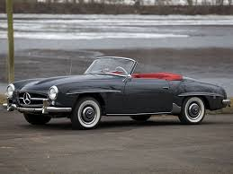 1955 mercedes benz 190sl roadster youtube