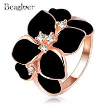 aliexpress buy beagloer new arrival ring gold beagloer hotting sale jewelry ring with gold color austrian