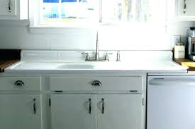 kitchen sink backsplash kitchen sink with backsplash splash guard and faucet drainboard