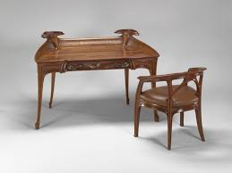 vmfa mahogany desk and chair by jacques gruber desk and chair ca