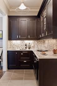 glass tile backsplash with dark cabinets backsplashes glass tile and stone dark wood dark and woods
