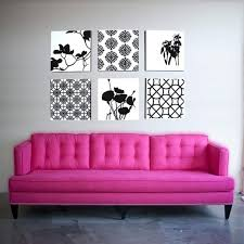 Pink Sofa Bed by 15 Dazzling And Chic Pink Sofa Ideas Rilane