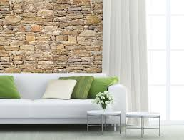 stone wallpaper mural plasticbanners com a stone wall mural