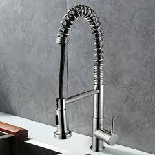 robinet laiton cuisine robinet de cuisine en laiton fini chrome tête de