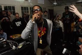 kid cudi is rapping in the garage wallpapers and images