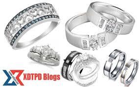 cincin emas putih model perhiasan cincin emas putih terbaru