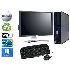 ordinateur de bureau dell pas cher ordinateur de bureau tout en un pas cher unitac centrale dell