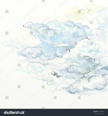 sketch clouds stock illustration 152383475 shutterstock