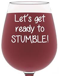 wine birthday gifts ready to stumble wine glass 13 oz best christmas gifts for