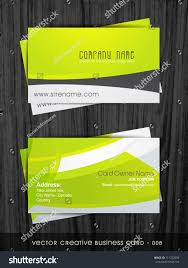 stylish clean simple business card template stock vector 111722696
