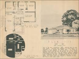 1950s ranch house floor plans floor 1950s home floor plans