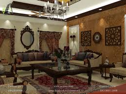 drawing room designed by aenzay at multan interiors architectural