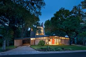 Mid Century Homes Renovated Midcentury Home In Austin Doubles Square Footage Then