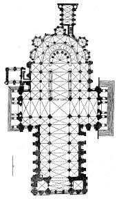 plan of chartes cathedral design history gothic architecture