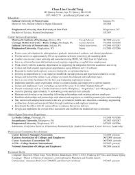 Upenn Career Services Resume Gerald Wit Resume One Page