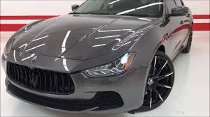 custom maserati 2016 maserati ghibli s q4 custom 92k msrp one of a kind low