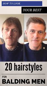 hair weaves for balding men how to look your best 20 hairstyles for balding men bald man